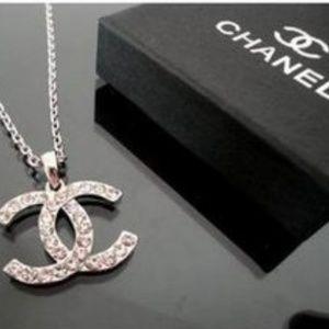 Authentic Chanel Double CC Necklace